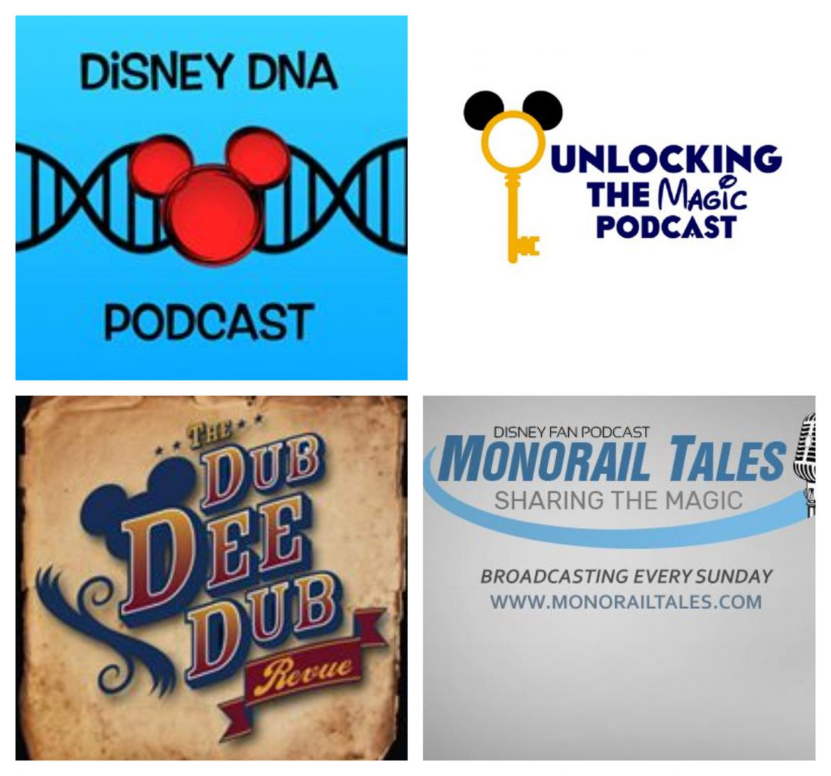 My favorite Disney podcasts!